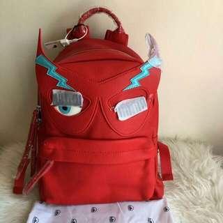 Chiara Ferragni Small Backpack Eco Leather Red