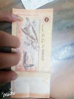 MALAYSIA WANG KERTAS RM20.00