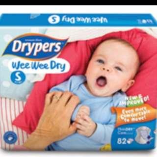 Drypers Wee Wee Dry S