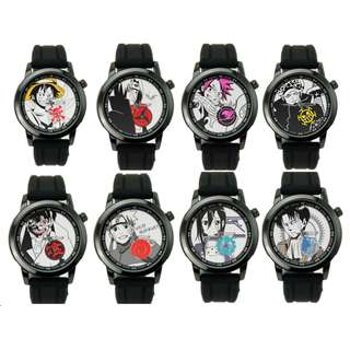 One Piece Naruto Chronograph Stainless Steel Quartz Premium Anime Watch