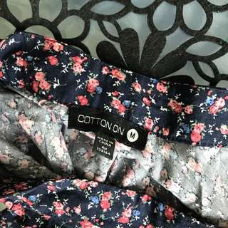 Cotton on rok floral