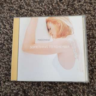 Madonna - Something To Remember (1995) CD