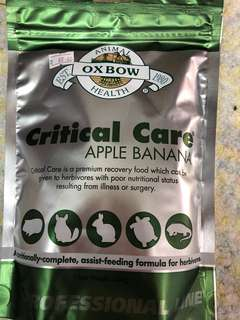 Oxbow Critical Care Apple Banana premium recovery food 454g