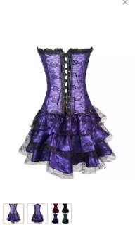 Gothic Purple Dress