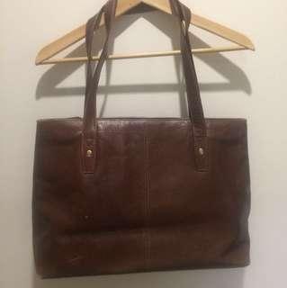 Genuine leather vintage shoulder/handbag