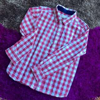 Checkered Shirt 4-5Y