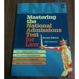 Mastering the National Admissions Test for Law by Mark Shepherd, LNAT