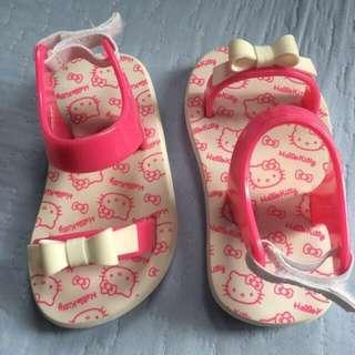 Banana Peel Hello Kitty Slippers 15cm