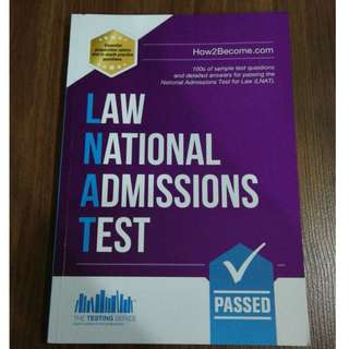 Law National Admissions Test LNAT, The Testing Series, How2Become.com