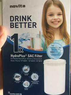 novita hydroplus SAC filter replacement