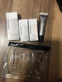 Shiseido man skincare travel kit