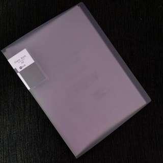 Clear book file
