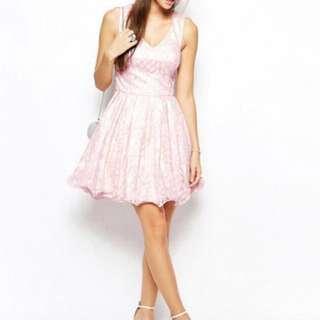 CHI CHI LONDON SWEET PINK DRESS