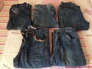 Seluar jeans kanak2 9-12 tahun