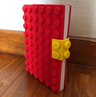 LEGO-Inspired Notebook