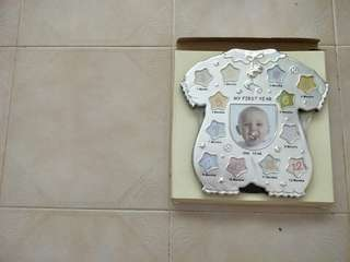 Baby My First Year Photo Frame