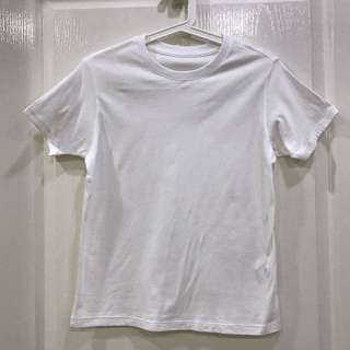 Unisex Kids UNIQLO White Top