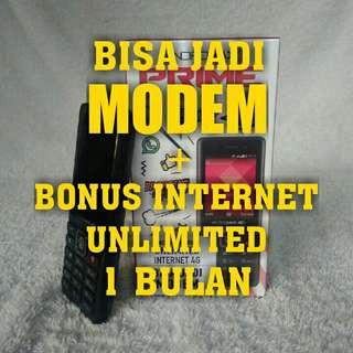 Andromax Prime + Bonus Internet Unlimited 1 Bulan