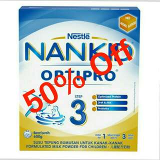 Nestle Nankid Optipro Step 3 600g
