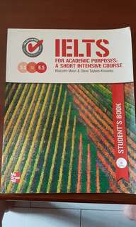 IELTS intensive course for academic purposes
