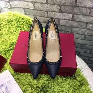 VALENTINO high heels 荔枝皮