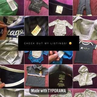 Baby boy's apparel