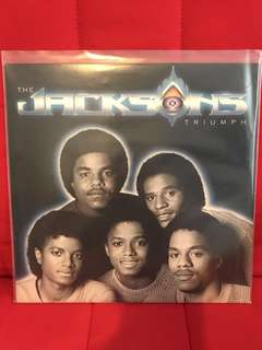 The Jacksons Triumph LP Vinyl Record USA