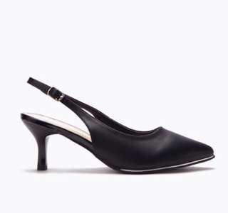 DMK Slingback Heel in Black