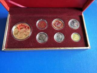 Singapore coin set 2015 year of 🐐
