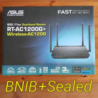 Asus RT-AC1200G+ Dual-band Gigabit Router