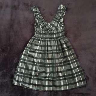 Zara Plaid Dress (Small)