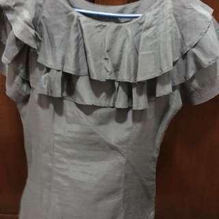 Bayo ruffled blouse
