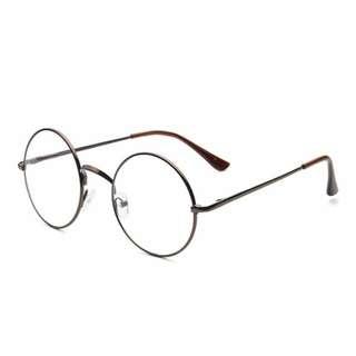 Kacamata bingkai bulat