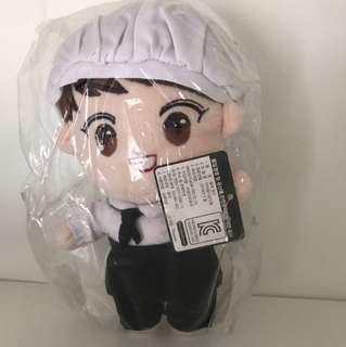 EXO燦烈unfair廚師公仔
