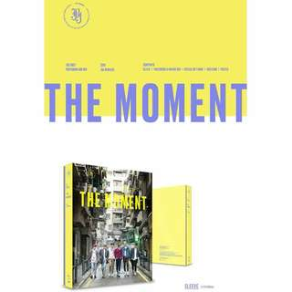 (Pre-order)- JBJ-1st Photobook- The Moment