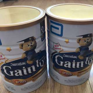 Similac gain IQ stage 3 milk powder