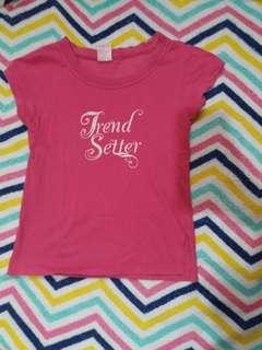 Trend Setter Pink Shirt