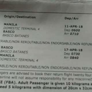 Batanes Roundtrip Ticket ( Skyjet)
