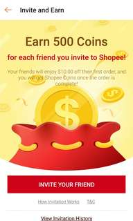 Shopee $10 voucher