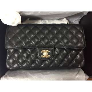 Chanel Classic 2.55 Caviar Double Flap Medium GHW bag designerbagsph BNEW