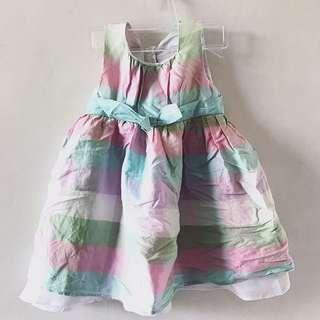 Checkered Pastel Dress
