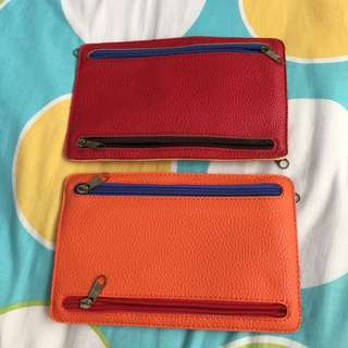 Colourful Travel Wallet