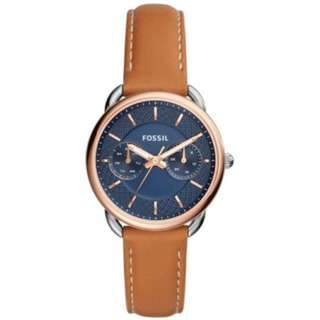 Fossil Tailor ES4257 Blue Dial Ladies Multifunction Watch