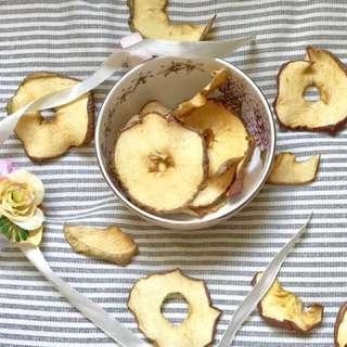 天然自制蘋果乾
