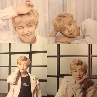 BTS 防彈少年團 Mediheal Postcard RM Set