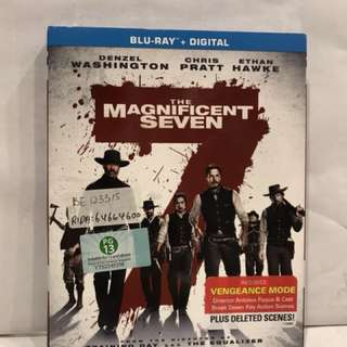 MAGNIFICENT SEVEN BLU RAY