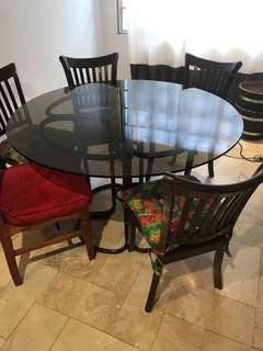 Pre loved dining set