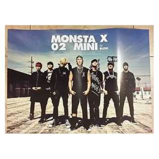 [BUNDLE SET!!] Monsta X official posters