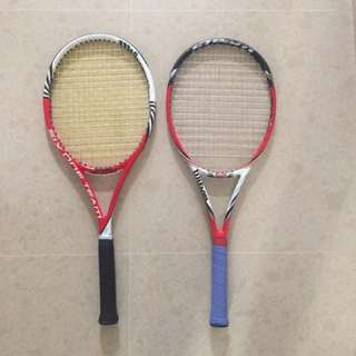 Wilson Six.one Team And Wilson 99S Steam Rackets