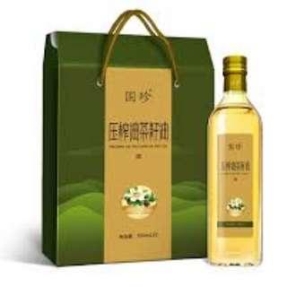 Camellia Seed Oil (500 ml x 2 / bottle)
